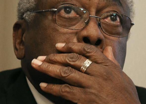 James Clyburn has thoughts and experiences to share.
