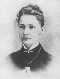 Susanna M. Salter,  mayor of Argonia, Kansas and the first woman elected to any political office in the United States Unknown photographer - Kansas Historical Society