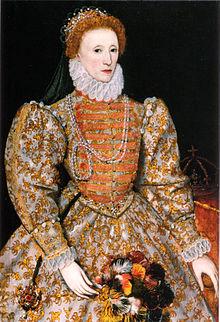 "The ""Darnley Portrait"" of Elizabeth I (c. 1575)"