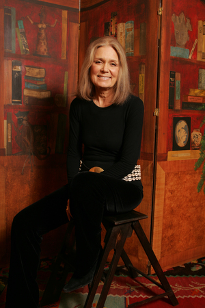 Feminist Gloria Steinem poses for a portrait on January 21, 2005 in New York City.  (photo by Todd Plitt/Getty Images)