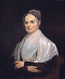 Lucretia Mott at the age of 49 (1842), at the National Portrait Gallery in Washington, D.C.