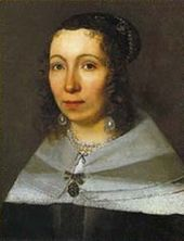 Maria Sibylla Merian in her early 30s