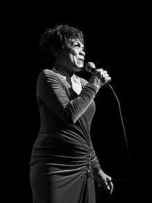 Kitt performing in concert in 2007